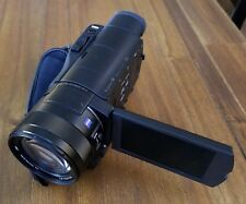 Sony HDR-CX900 Full HD CMOS Camcorder with Zeiss Lens 20 MP *Very Good*