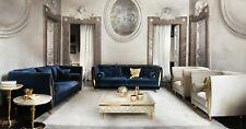 Poltrona TV Divano Barocco Rococo Stile Liberty Designer Mobile Classico