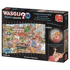 Wasgij Mystery15 typisch englische Grillparty Puzzle 19163 Jumbo 1000 T. NEU OVP
