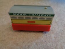 thomas & friends wooden railway sodor tramways flora train
