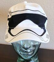 Disney Parks Star Wars Stormtrooper Storm Trooper Embroidered Adult Hat Cap
