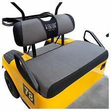 10L0L Golf Cart Bench Seat Cover Washable Mesh Gray Black Fit EZGO Golf Cart AU