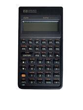 Hewlett Packard HP 42s Programmable Scientific Calculator & Case