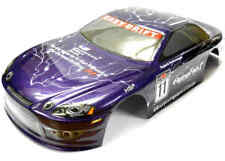 12302 1/10 Scale Drift Touring Race Car Body Cover RC Purple Cut