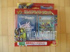 Digital Monster Card Game Millenium Battle Set Bandai Japan