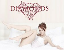 Diamonds are a Girl's Best Friend - highest quality wall decal stickers