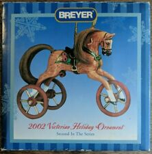 2002 Breyer Victorian Holiday Ornament Christmas Horse Tricycle NEW