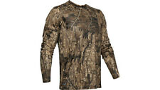 Under Armour ISO-Chill Brush Line Realtree Timber Camo LS T-Shirt Large 1348426