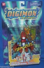 DIGIMON Digivolving Limited Edition FLAMEDRAMON New Factory Sealed 2001