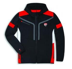 Ducati Corse Power Sweatshirt Pullover schwarz/rot NEU