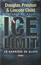 DOUGLAS PRESTON & LINCOLN CHILD  ICE LIMIT