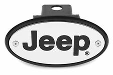 Jeep Licensed Chrome Receiver Hitch Cover - Engraved - USA Made