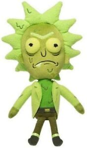 """NEW OFFICIAL 8"""" FUNKO GALACTIC RICK & MORTY TOXIC RICK PLUSH SOFT TOY"""