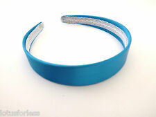 Wide Satin Headband Hair Band Alice Band LOTS of COLOURS *NEW* 2.5 cms