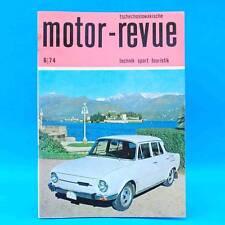 DDR Motor-Revue 6-1974  (tschechoslowakische) Skoda Jawa CZ Tatra II