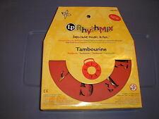 New Lp RhythMix Tambourine Red Rhyth Mix