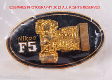 NIKON F5 Camera Pin or Nikon Hunting Optics Pin your choice NEW in Plastic