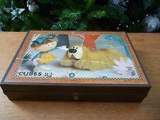 ☺ Ancienne Boîte A Cube Pollux Manège Enchanté 24 Cubes