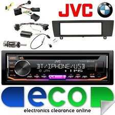 BMW 3 Series E90 JVC Bluetooth CD MP3 USB iPod auto estéreo kit de interfaz de volante