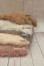 NEW PREMIUM Curly Faux Fur Baby Fabric Stuffer Blanket Photography Photo Prop