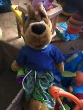 Scooby Doo  Soft Toy with torch TALKING Plush