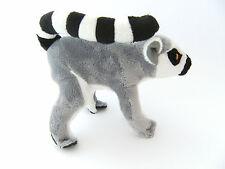 Plüschtiere Katta 17cm Lemur Stofftier Stofftiere Kattas Affe Affen Lemuren neu