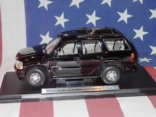 1:18 Welly 2001 GMC Yukon denali black SUV - kein Tahoe / Suburban - Rarität