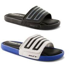 Sandalias y chanclas de hombre en color principal azul sintético