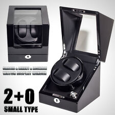 XTELARY Luxury Watch Winder Piano Wood Display Case Crafted Leather Storage
