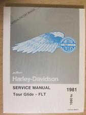 Harley Shovelhead 1980 - 1981 FLT NOS Service Manual