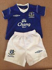 Everton baby football kit for boys or girl size 6/12 month Umbro