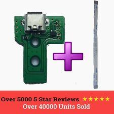 PS4 Mando Carga USB Puerto Enchufe f001 v1 Placa Circuito 12 Pin Conector
