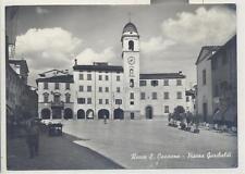 ROCCA SAN CASCIANO   B/N VIAGG 1955 PIAZZA GARIBALDI ANIMATA BELLA