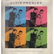 E Presley / C Perkins /  J L Lewis J / Cash Lp The Million Dollar Quartet Sig