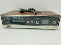 Vintage Panasonic RS-803US Stereo 8-Track Player Recorder Not Fully Tested