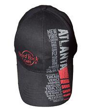 Hard Rock Cafe Atlanta GA Hat Embroidered Cap Adjustable