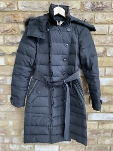 Burberry Brit Puffer Coat Size XS/S Used Genuine