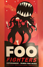 Foo Fighters Supergrass Poster, New 11x17