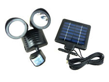 Solar Garden Security Light With Motion Sensor Activated LED Lamp 22 LED