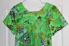 Vintage Ladies Hawaiian Dress Mint Condition Alika of California