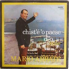 VINILE LP 33 GIRI RPM MARIO ABBATE CHISTE O PAESE D O SOLE ER 6041 ITALY 1968