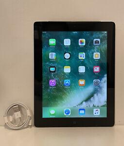 Apple iPad 4th Gen. 128GB, Wi-Fi, 9.7in - Black - READ FULL DESCRIPTION