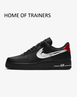 NUOVO Nike AF1 Air Force 1'07 argento metallizzato verde