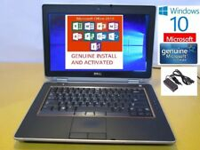 DELL LATITUDE E6320 LAPTOP WINDOWS 10 WIN I300GB NTEL i5 2.5GHz DVD-RW HDMI