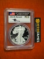 2015 W PROOF SILVER EAGLE PCGS PR70 DCAM MERCANTI FIRST DAY ISSUE FLORIDA FUN