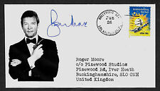 Sir Roger Moore Ltd Edition Collector's Envelope Autograph Reprint *1074