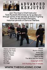 New listing Advanced Battlefield Kenjutsu Sword Fighting Katana Samurai Dvd