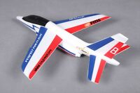 FMS 600MM FREE FLIGHT ALPHA GLIDER KIT (BLUE AND RED) FS0174R