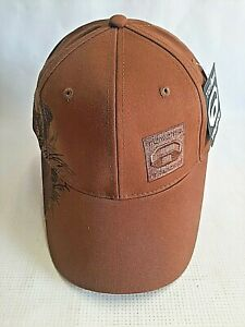 NEW Toyota Trucks Ball Cap Brown Embroidered Hunting Hat Hook/Loop Adult Teens