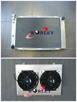 3 row Alloy Aluminum Radiator 80-84 Holden V8 WB Statesman +Shroud+Fan AT MT